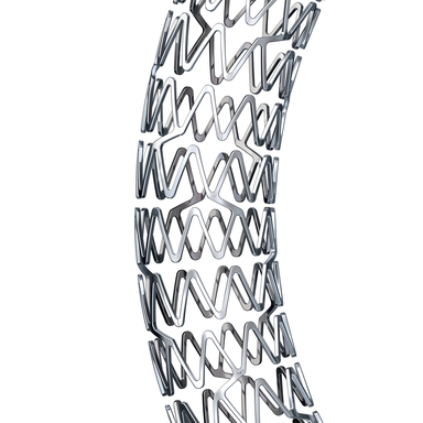 PROMUS Element™ Plus Platinum Chromium Everolimus-Eluting Stent System – close up of stent alloy and design
