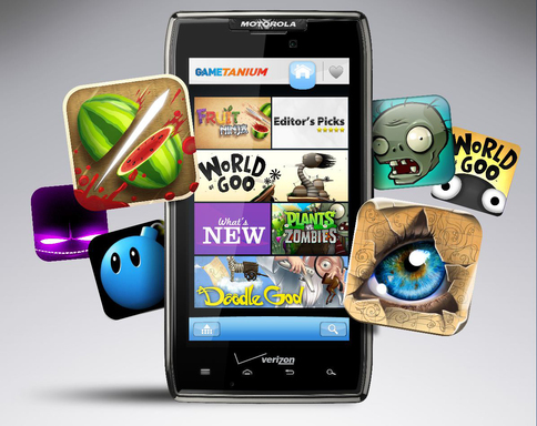 GameTanium provides unlimited access to more than 100 of the best Android smartphone games and more than 50 tablet games for one low monthly fee.