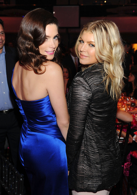 Avon Voices Judge Fergie and mark Brand Ambassador Ashley Greene celebrate Avon's 125th Anniversary at the Avon Foundation for Women Gala in New York City