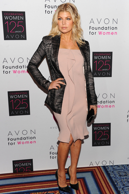 Musician and Avon Voices Judge Fergie celebrates Avon's 125th Anniversary at the Avon Foundation for Women Global Voices for Change Awards Gala in New York City