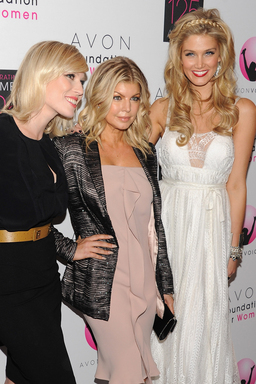 Avon Voices Judges Natasha Bedingfield, Fergie and Delta Goodrem at the Avon Foundation for Women Global Voices for Change Awards Gala in New York City