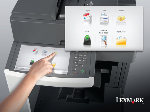 Lexmark 10.2-Inch e-Task Touch Screen