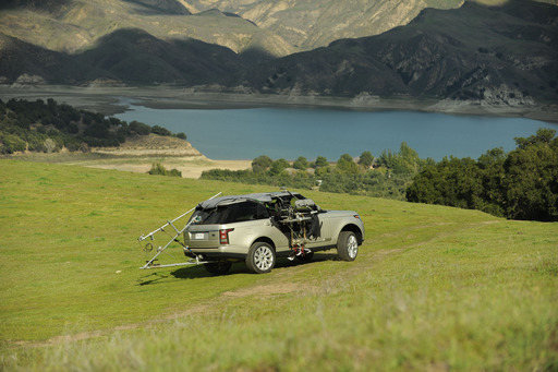 The making of Land Rover's The Trail Less Traveled exploration app with the all-new Range Rover
