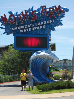 With more than 49 rides, Noah's Ark Water Park is America's largest water park and also one of TripAdvisor's top ten. (A TripAdvisor traveler photo)