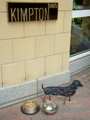 Hotel Marlowe, a Kimpton Hotel, offers pet sitting services to accommodate cuddly canines. (A TripAdvisor traveler photo)