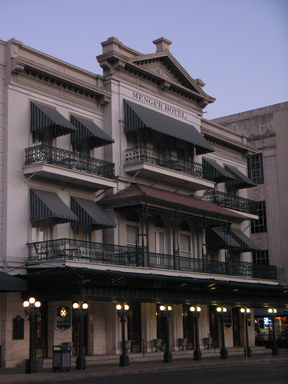 The Menger Hotel, San Antonio, is among America's most haunted accommodations, according to TripAdvisor. (A TripAdvisor traveler photo).