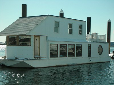 The White Elephant Floating Inn, one of TripAdvisor's quirky American vacation rental homes.