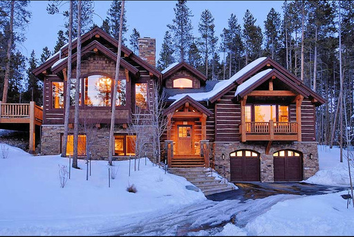 Vacation rental home available on TripAdvisor in Breckenridge, Colorado, the top winter ski vacation rental destination according to TripAdvisor. (A TripAdvisor photo)