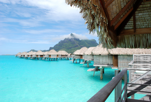 The Four Seasons Resort Bora Bora is the most romantic hotel in the world, according to TripAdvisor's Travelers' Choice Romance awards. (A TripAdvisor traveler photo)