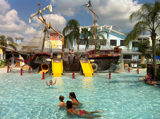 Marriott's Harbour Lake in Orlando, Florida is among the top U.S. large hotels for families, reveals TripAdvisor's 2012 Travelers' Choice Hotels for Families.
