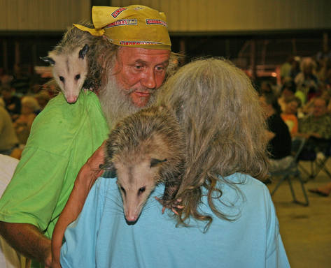 TripAdvisor's round up of wacky summer events includes the Wausau Possum Festival, which pays homage to the modest marsupial. (Photo: The Goulding Agency, Inc.)