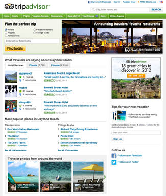 TripAdvisor hits 75 million reviews and opinions milestone.