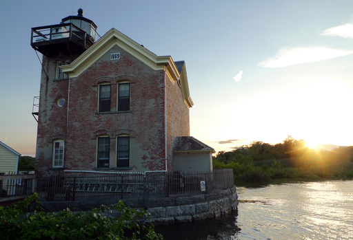 New York's Saugerties Lighthouse is listed among the quirkiest hotels in America, according to TripAdvisor editors. (A TripAdvisor traveler photo)