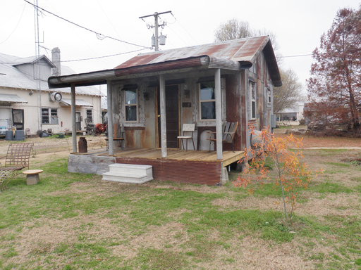 Among TripAdvisor's list of ten of the quirkiest lodgings in the U.S. is the Shack Up Inn in Clarksdale, Mississippi. (A TripAdvisor traveler photo)