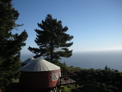TripAdvisor's list of ten of the quirkiest lodgings in the U.S. includes Treebones Resort in Big Sur, California. (A TripAdvisor traveler photo)