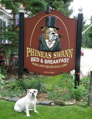 TripAdvisor's top ten properties that allow pets includes Phineas Swann Bed and Breakfast Inn, Vermont. (A TripAdvisor traveler photo)