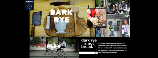 Dark Rye from Whole Foods Market explores the lives of thinkers, doers, dreamers and creators.