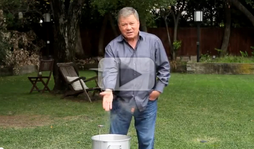 Turkey Fryer Fire Demonstration, presented by William Shatner and State Farm