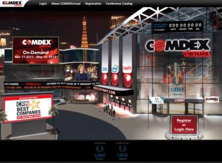 COMDEXvirtual provides a unique forum for solution providers