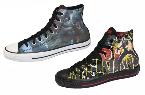 "Converse ""The Dark Knight Rises"" Limited Edition Shoes"