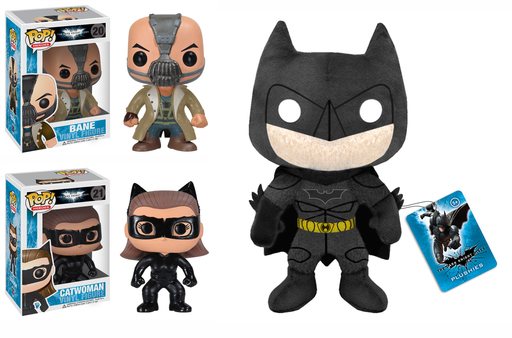 "Funko ""The Dark Knight Rises"" Pop Fun Vinyl Figures and Plush"