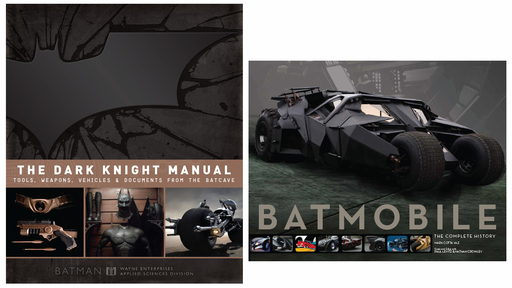 Insight Editions' The Dark Knight Manual and Batmobile The Complete History