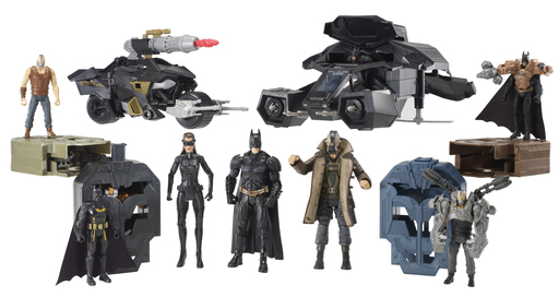 "Mattel ""The Dark Knight Rises"" Product Line"