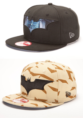 "New Era ""The Dark Knight Rises"" Exclusive Caps"