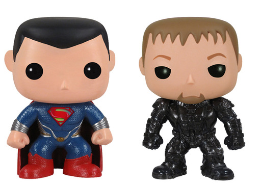 Funko's Man of Steel™ POP! Vinyl figures are available at specialty retailers nationwide at the suggested retail price of $9.99