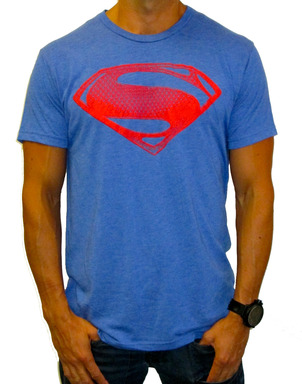 Kinetix's Man of Steel™ S-Shield t-shirt is available in both male and female cuts from $35.00-$50.