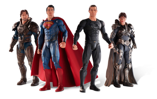 Mattel's Man of Steel™ Movie Masters® are available at retailers worldwide at the suggested retail price of $14.99