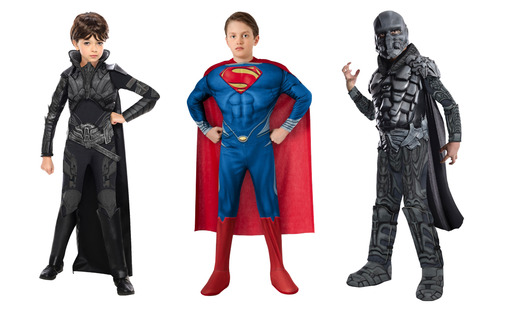 Rubie's Costume Co. Man of Steel Costume Collection is available soon at retailers nationwide starting at $12.99