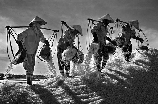 ''Salty Taste of Life'' – 2011 CGAP Photo Contest Winner, submitted by Ngo Quang Phuc of Vietnam.
