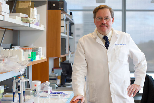 Stephan Grupp, M.D., Ph.D., pediatric oncologist and director of Translational Research at The Children's Hospital of Philadelphia leads the pediatric T Cell therapy trial with Penn Medicine.