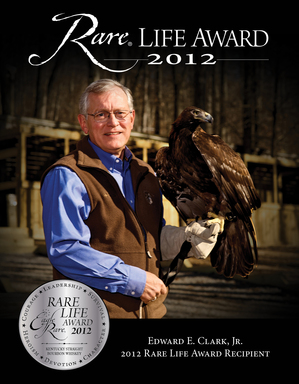 Eagle Rare, Kentucky Straight Bourbon Whiskey 2012 Rare Life Award Winner Edward E. Clark, Jr.