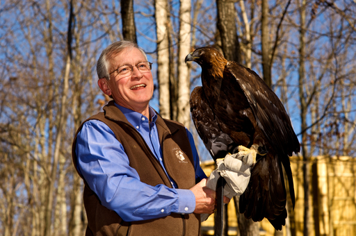 The Eagle Rare 2012 Rare Life Award winner Edward E. Clark Jr., co-founded The Wildlife Center of Virginia which has saved around 60,000 thousands wildlife animals