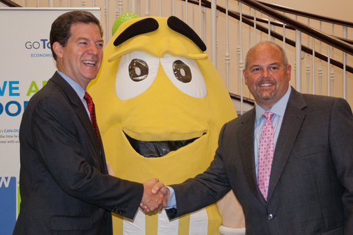 Mars Chocolate North America announces plans to build manufacturing facility in Topeka, KS - Yellow M&M