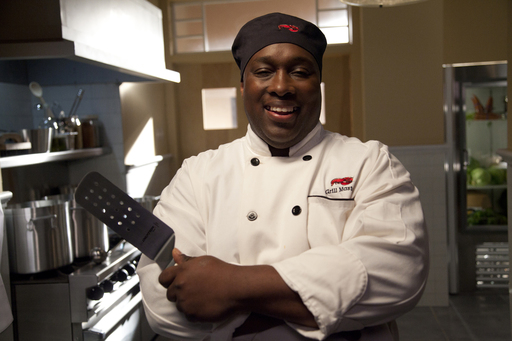 "Charles Himple, a Certified Grill Master at the Bronx, New York Red Lobster restaurant, is one of the ""real people of Red Lobster"" featured in the brand's new ad campaign."