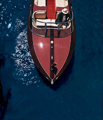 Neiman Marcus-Edition Hacker-Craft Speedboat