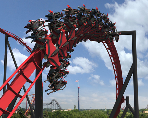 Six Flags Great America is the first theme park to announce plans for a wing coaster in the U.S.