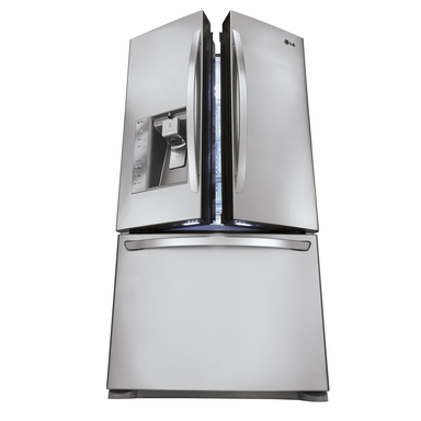 LG's super-capacity French-door refrigerator offers a spacious 31 cu ft – the largest capacity in its class – and cutting-edge innovations to help keep food fresher, longer