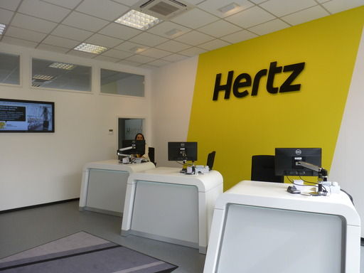 Frankfurt Streamlining the rental experience, Hertz has redesigned its rental locations.  Hertz's Frankfurt location features concierge style service, making it faster and easier to rent a car.