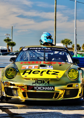 Hertz Sponsored JDX Race Car Ready to Roll