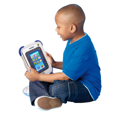 The InnoTab's touch screen and motion games let kids take control of how they play and learn.