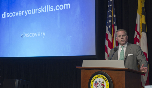 David Zaslav, President & CEO, of Discovery Communications announces the expansion of 'Discover Your Skills.'