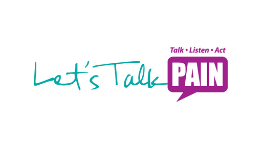 Let's Talk Pain logo