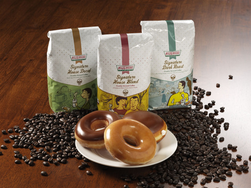 From medium to full-bodied flavor, Krispy Kreme Signature Coffees have a smooth, distinctive flavor profile. Pair with Krispy Kreme doughnuts for a rewarding taste experience.