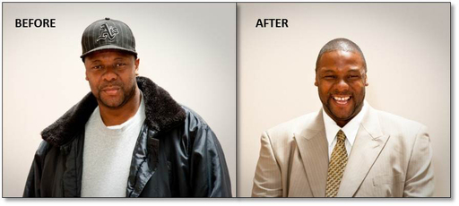 National Suit Drive 2010 – Before & After