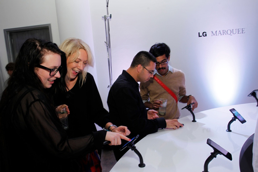 LG MARQUEE SHINES BRIGHT AT MADE FASHION WEEK 2011 LAUNCH EVENT