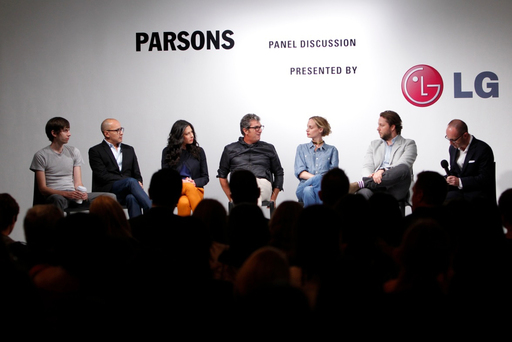 THE PARSONS PANEL DISCUSSION SPONSORED BY LG MOBILE AT LG MARQUEE LAUNCH EVENT AT MADE FASHION WEEK 2011
